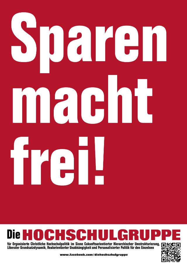 sparen_macht_frei